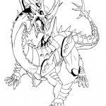 Bakugan coloring pages