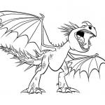 Stormfly Coloring Pages
