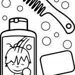 Hygiene Coloring Pages