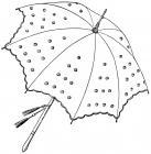 Umbrella Coloring Pages