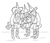 The Wizard of Oz coloring pages