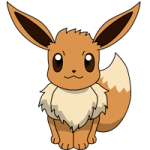 Eevee coloring pages