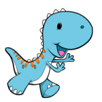 Baby dinosaur coloring pages