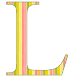 Letter l coloring pages