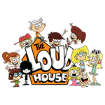The loud house coloring pages