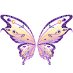 Fairy wing coloring pages
