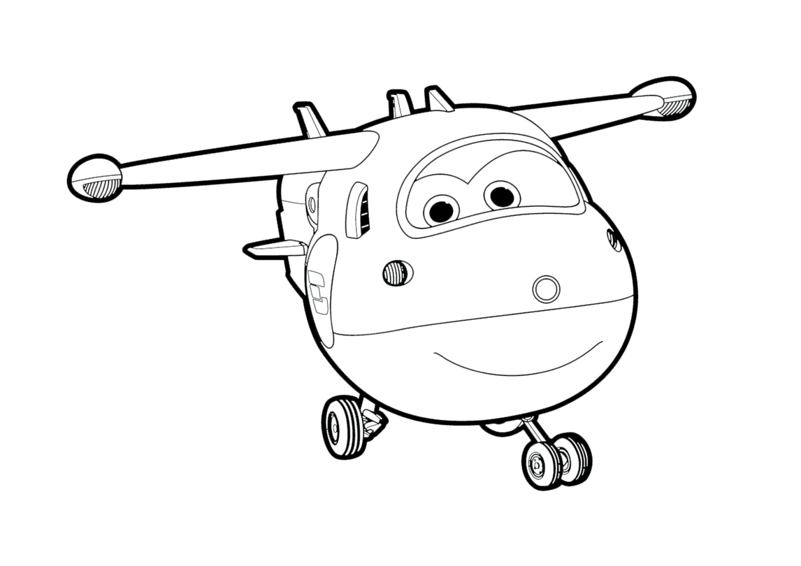 Super Wings coloring pages to download