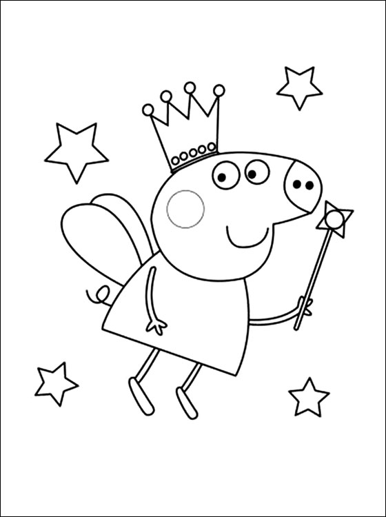 free pig coloring pages - photo#16