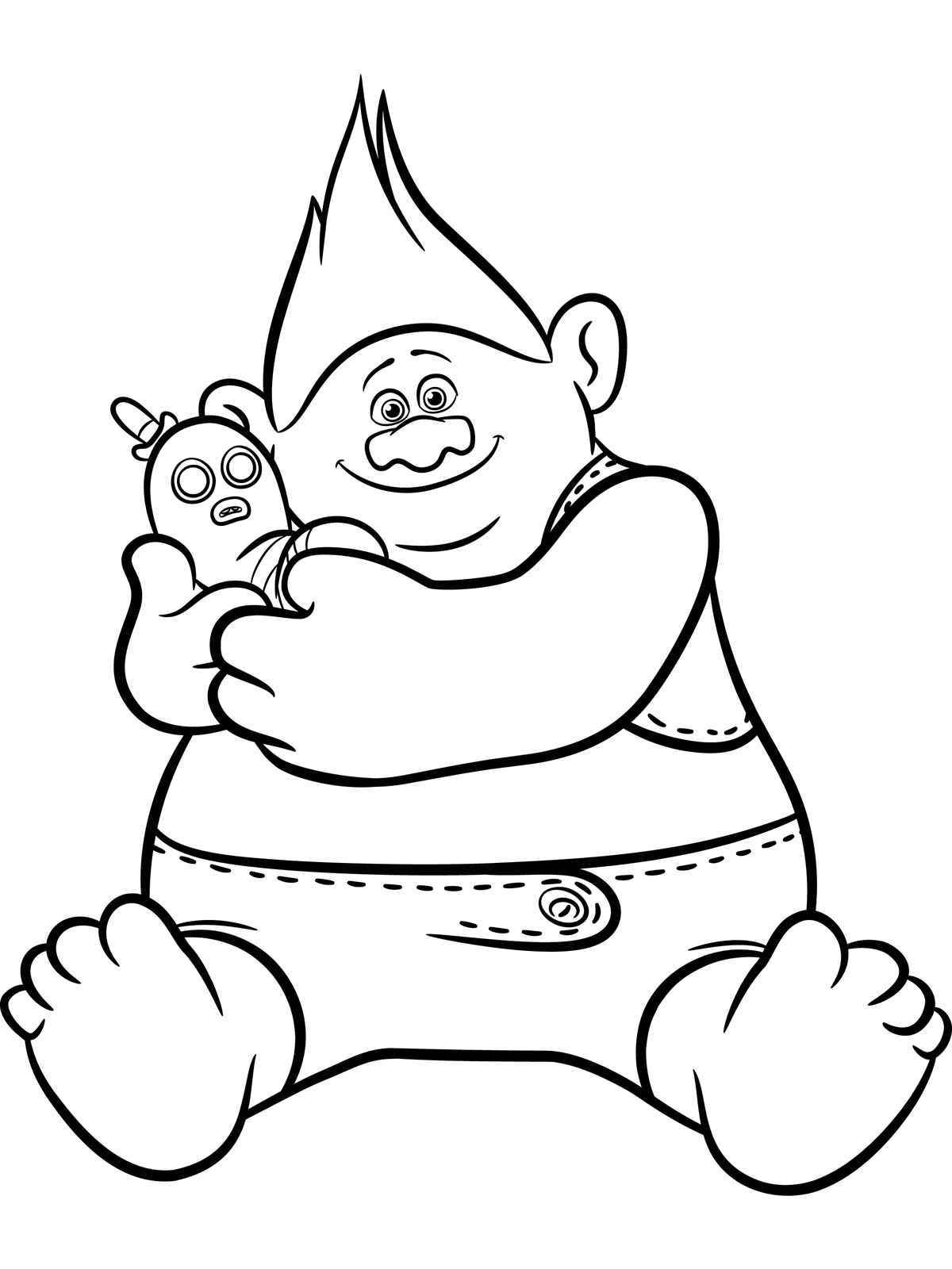 Magic image with regard to trolls printable coloring pages