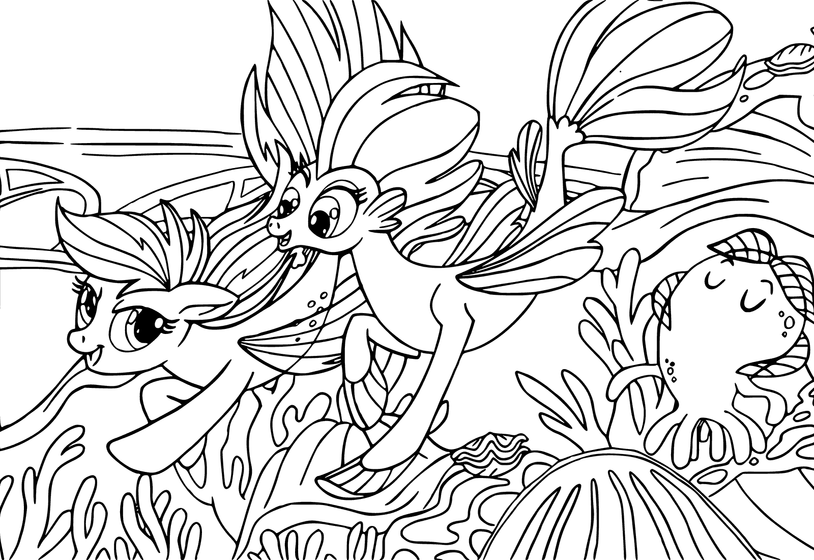 my little pony the movie coloring pages to download and print for free