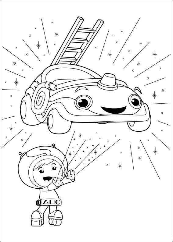 Umizoomi Coloring Pages To Download And Print For Free