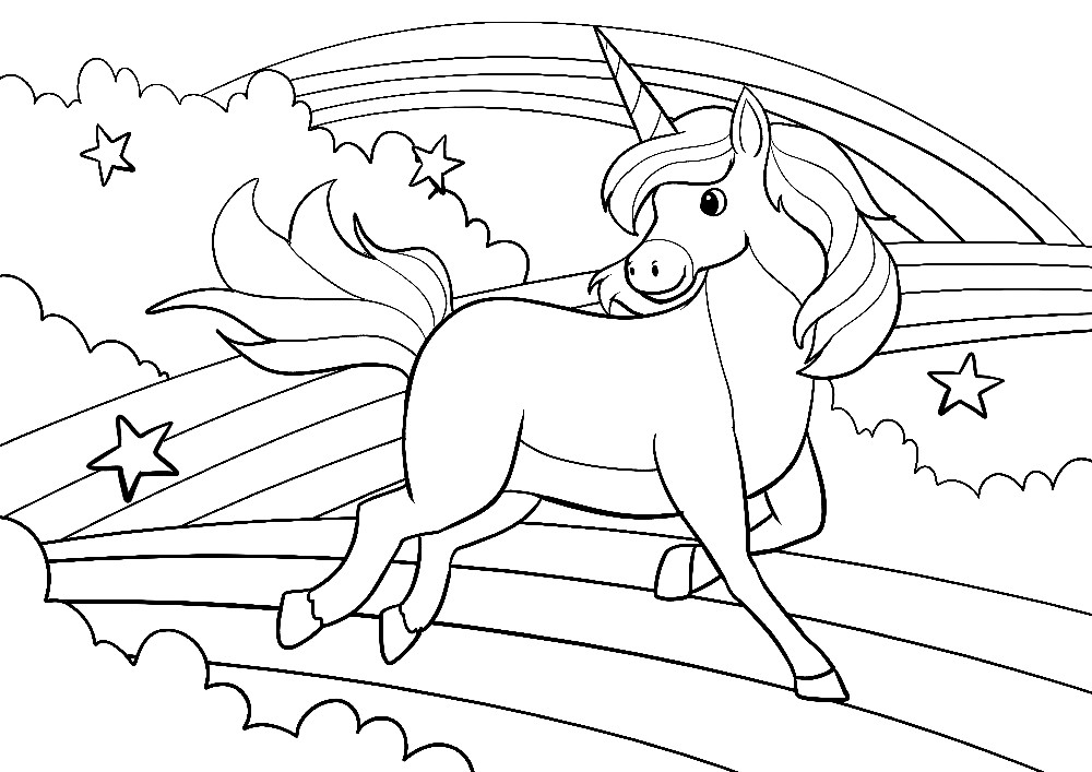unicorn ausmalbilder einhorn mandala  coloring and drawing