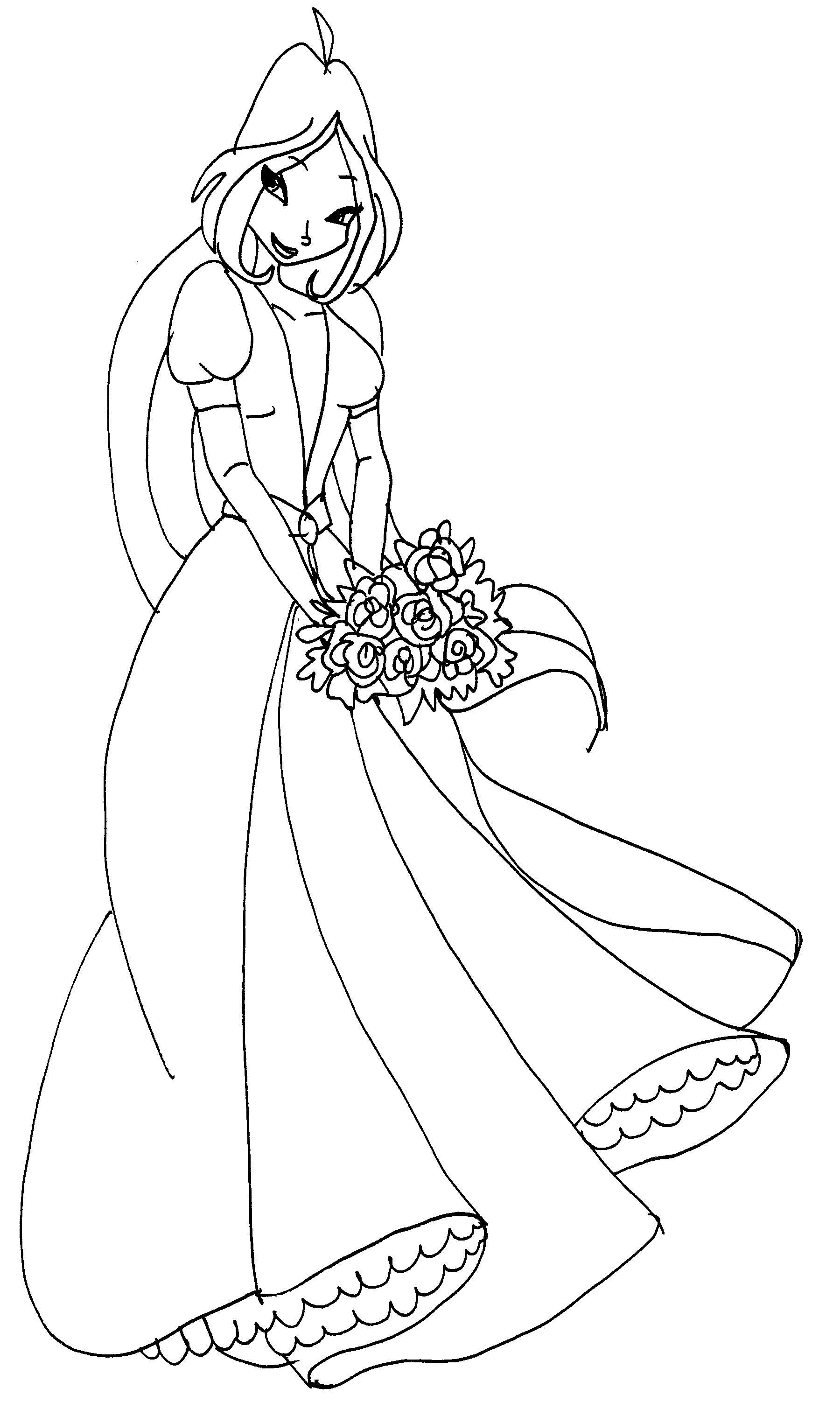 Winx princess coloring pages download and print for free for Winx coloring pages printable