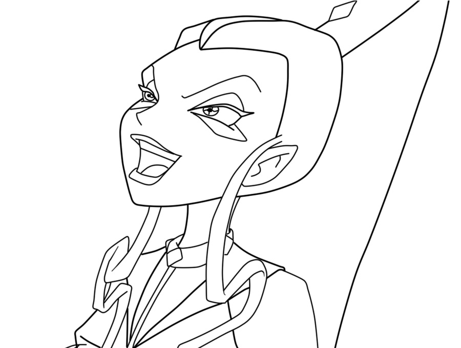 Trix coloring pages ~ Trix coloring pages to download and print for free