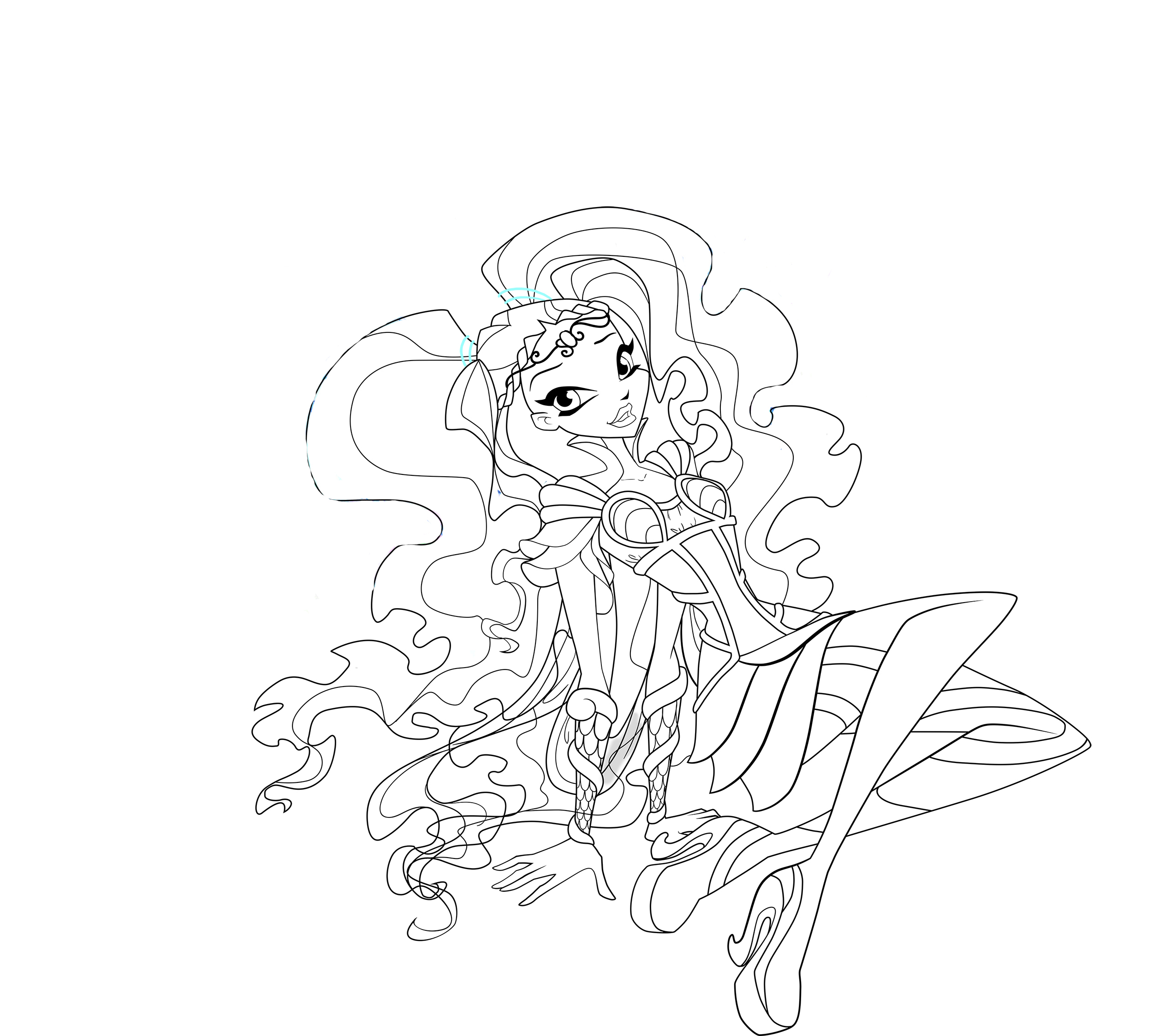 Winx Club Bloomix Coloring Pages To Download And Print For Free