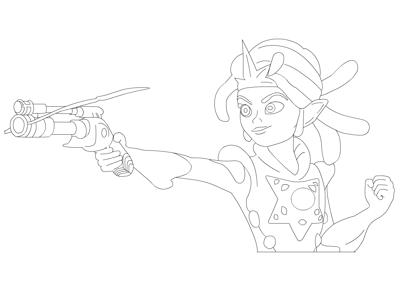Zak Storm coloring pages to download