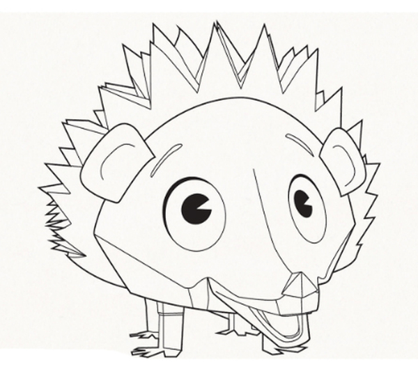 Zack And Quack Coloring Pages To Download And Print For Free